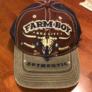 Mesh Farm Boy ball cap